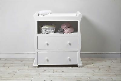 East Coast ALASKA DRESSER - WHITE Baby Child Nursery Furniture BN