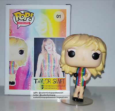 Custom Funko Pop Taylor Swift Cantante