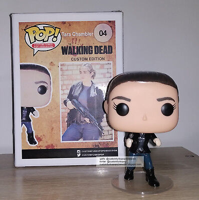 The Walking Dead Custom Funko Pop Tara Chambler -  Alanna Masterson