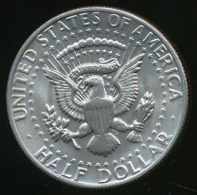 United States, 1972-D Half Dollar, 50c, Kennedy - Choice Uncirculated