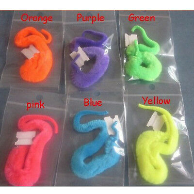 6x Magic Wriggler Wiggly Twisty Worm Snake Stocking Filler Party Loot Bag ToyDSU