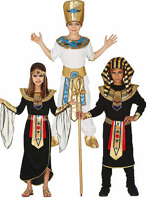 Boys Egyptian Pharaoh Costume King Fancy Dress Historical Book Week Outfit