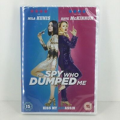 The Spy Who Dumped Me DVD - New and Sealed Fast and Free Delivery