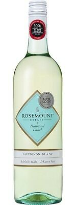 Rosemount `Diamond Label` Sauvignon Blanc 2017 (6 x 750mL), SE AUS.