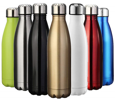 ZUSERIS Water & Drinks Bottle Sports Insulated Stainless Steel Vacuum Flask...