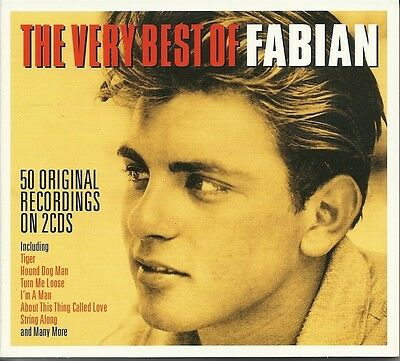 The Very Best Of Fabian - 2 Cd Box Set - Tiger, Turn Me Loose & More