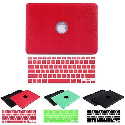 Macbook Pro Retina 13 Metallic Soft Touch Case w/Keyboard Skin