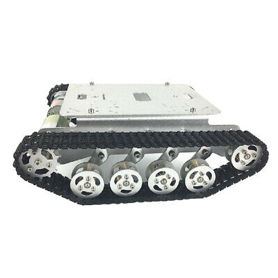 Metal Robot Tank Car Chassis Shock Absorption Car for Arduino DIY Toy TS100