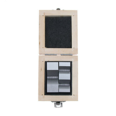 2pcs HIGH PRECISION V-BLOCK 2'' with Wooden Case