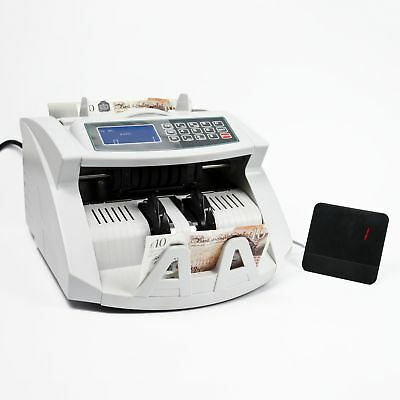 NC20i BANK NOTE COUNTER Money Checker Fake Detector Currency Pound Cash Machine