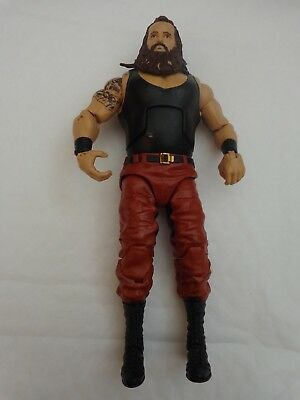 Rare Wwe Braun Strowman Mattel Elite Series 44 Wrestling Action Figure