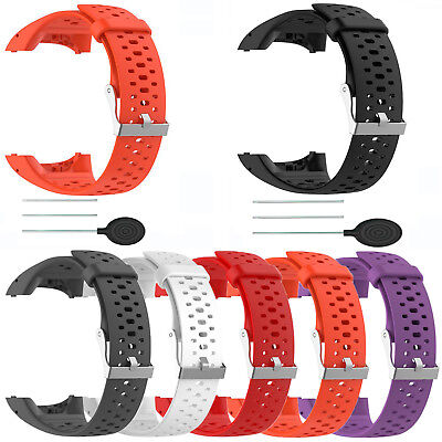 Wristwatch Band Silicone Strap Replace for Polar M400 M430 Sports Smart Watches