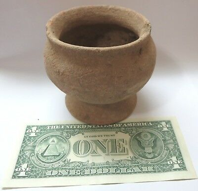 China Dawenkou culture Neolithic pottery terracotta antique jar pot, old Relic