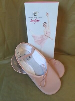 NEW IN BOX - ABT Spotlights Pink Rosado Rose Ballet Shoes - Women's - Size 10