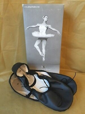 NEW IN BOX - ABT Spotlights Black Ngo Noir Ballet Shoes - Women's - Size 10