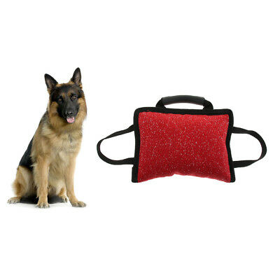 Multifunctional Pet Dog Bite Pillow Interactive Teeth Cleaning Training Toy