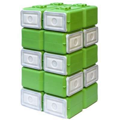WaterBrick FoodBrick Stackable BPA Free Food Storage Container (Pack of 10) -