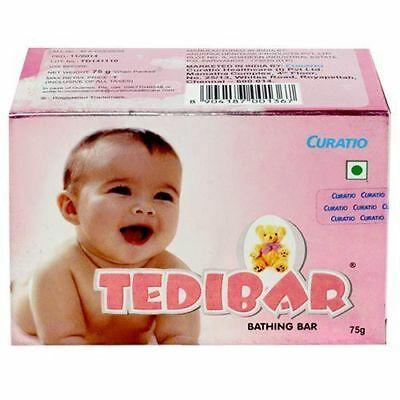 Curatio Tedibar Soap free of HARMFUL ALKALI for soft supple healthy skin 75g NEW