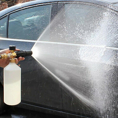 1L Foam Cannon Bottle Lance For Pressure Washer Gun Jet Car Wash Soap Spray