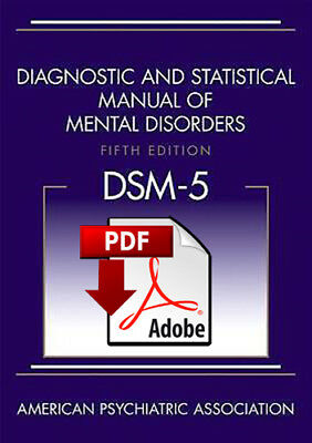 Diagnostic and Statistical Manual of Mental Disorders, DSM-5 - PDF Download