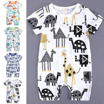 Costume Newborn Baby Girl Boy Romper Jumpsuit Jumper Outfit Clothes 0-18 Months