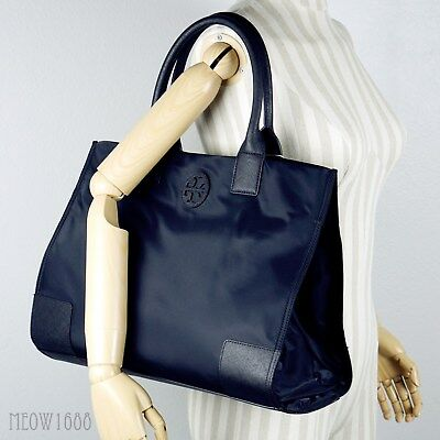 AUTHENTIC TORY BURCH MARSDEN TOTE in rich light oak pebbled leather