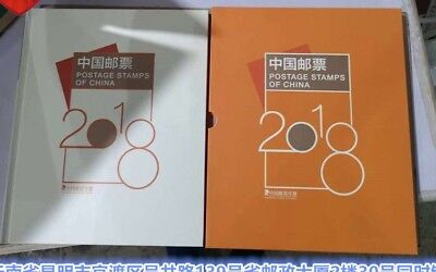 CHINA 2018-1  2018-34 ALBUM 全年 年票 Whole Year of Dog  FULL stamp + 5 S/S BOOKLET