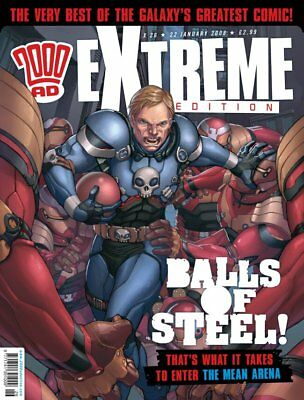 """2000AD ft JUDGE DREDD presents """"EXTREME - ISSUE 26"""" - 2008 - EXCELLENT CONDITION"""