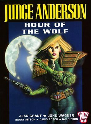 2000AD ft JUDGE DREDD: JUDGE ANDERSON in HOUR OF THE WOLF - GRAPHIC NOVEL - VGC