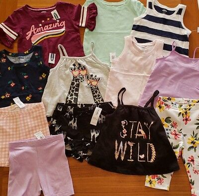 40bbc8e612b Old Navy Girls 18-24 MONTH Summer Clothes Lot 12 PIECES Tops Shorts  24