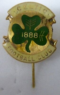 CELTIC FOOTBALL Lapel Pin Badges 2 inc Twinned Crest with MANCHESTER UNITED