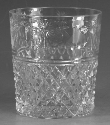 "STUART Crystal - BEACONSFIELD Cut (Old) - Tumbler Glass / Glasses - 3 1/2"" (1st)"