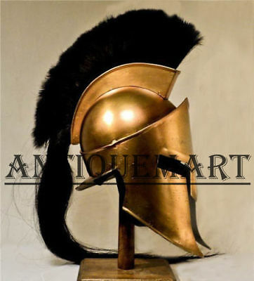 Movie Spartan King-Leonidas+Medieval Roman Helmet Reenactment with cotton cap