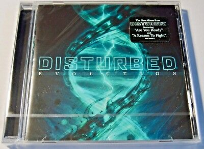 Disturbed ~ Evolution ~ NEW CD Album 2018 (sealed)