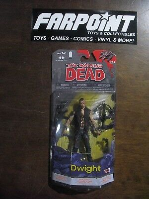 NEW MOC WALKING DEAD Skybound Image McFarlane Series 3 DWIGHT Action Figure