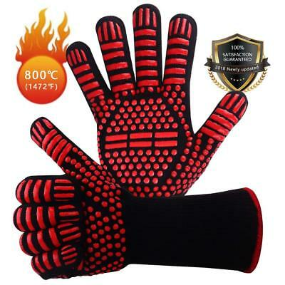 Win.Max BBQ Gloves Oven Mitt Hand Protection from...