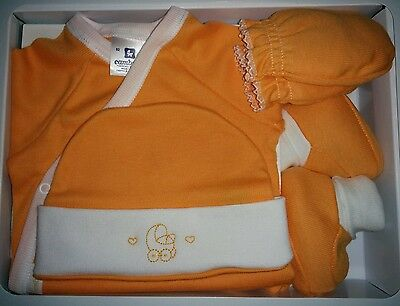 Cambrass Unisex Baby Gift Set with Hat and Mittens
