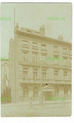 Old Pub Postcard The Angus Hotel Blackfriars London Real Photo Vintage Used 1911