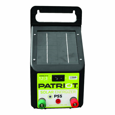 Patriot - PS5 Solar Energizer - 0.04 Joule for electric fence