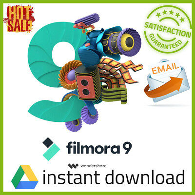 Wondershare Filmora 9 ✅ LIFETIME LICENSE🔑(Unlimited Devices) 🚀Fast Delivery 📩