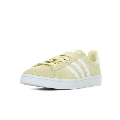 Chaussures Campus Cuir Baskets Beige Homme Lacets Adidas Taille kZuXOPi