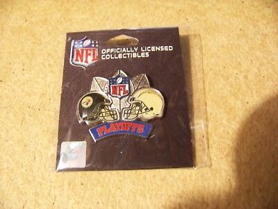 2009 NFL Playoffs Steelers vs Chargers Division AFC lapel  pin