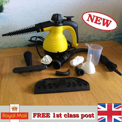 New Pressurized Steam Cleaner Stain Removal Curtains Crevasses Bed Bug Car Seats