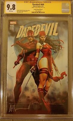 DAREDEVIL #600 CGC SS 9.8  NM/MT Variant Cover A Signed by Adi Granov Beautiful!
