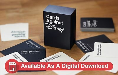 Cards Against Disney - Disney Edition Of Cards Against Humanity