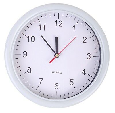 """8"""" Round Wall Clock Indoor / Conservatory / Office / Home"""