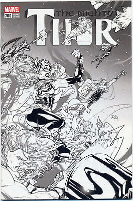 Mighty Thor #700 Dauterman 1:100 Variant Near Mint First Print Bagged & Boarded