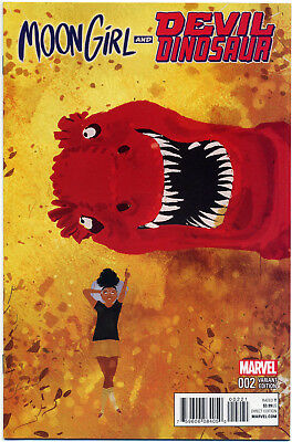 Moon Girl Devil Dinosaur #2 Campion Variant Nm First Print Bagged And Boarded