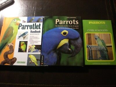 Parrots From Purchase To Care And Breeding+Parrotlet+Two Other Publications.