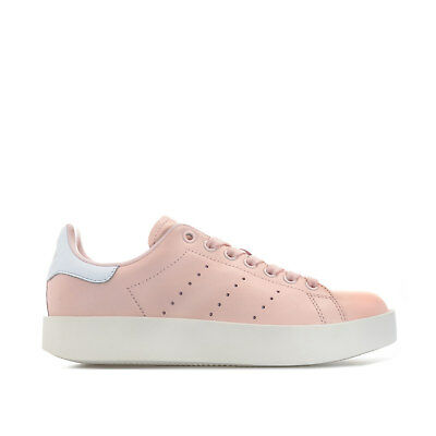 Womens adidas Originals Stan Smith Bold Trainers In Icey Pink   Footwear  White 5f17e893a